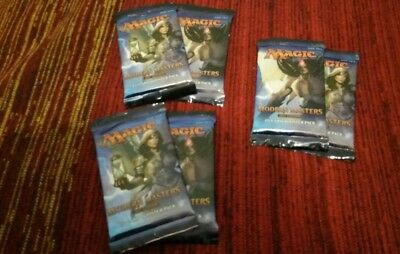 Magic the Gathering 6 Booster Magic Modern Masters 2017 englisch