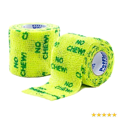 PETFLEX NO CHEW Flexible Cohesive Bandages 5cm x 4.5m