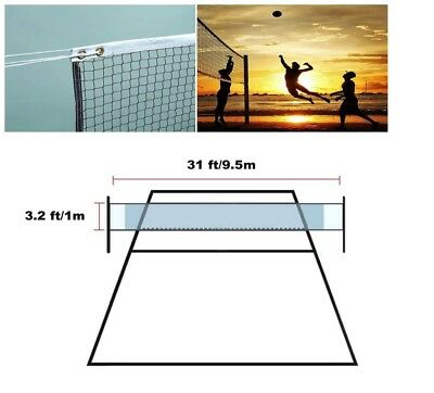 Volleyball Net Professional Backyard Beach School Pool Park Sport Set 32L' x 3W'