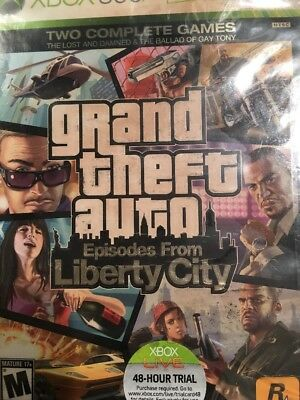 Grand Theft Auto Two Complete Games Episodes From Liberty City Xbox 360 Sun Fade