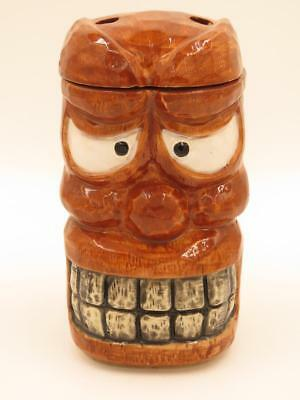 "Genuine OMC ""Otagiri"" Japan Vintage Stockton Islander ""Smiley"" Lidded Tiki Mug 2"