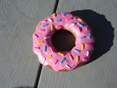 The Simpsons Giant Simpsons Donut Dog Toy