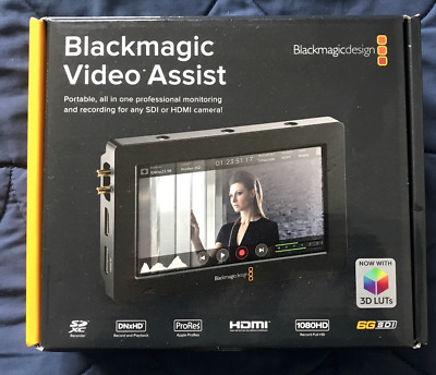 Blackmagic Video Assist - Hardly used