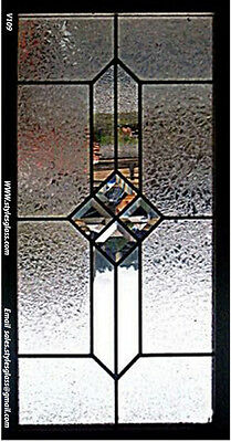 stain glass   Window V019  WOW