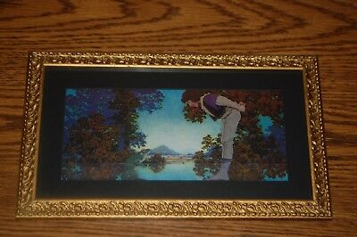 "ANTIQUE VINTAGE MAXFIELD PARRISH  - "" The Youth and the Frog"" SPECIAL"