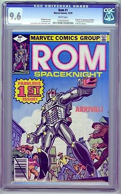 Marvel - ROM #1 - CGC 9.6 - White Pages - Origin & 1st app of Rom Spaceknight
