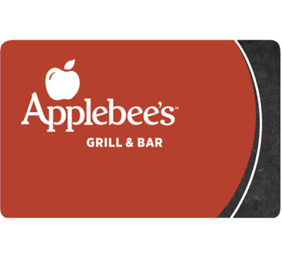 $25 Applebee's Gift Card -Buy (2) $25 Applebee's Gift Card and Save $10 -Emailed