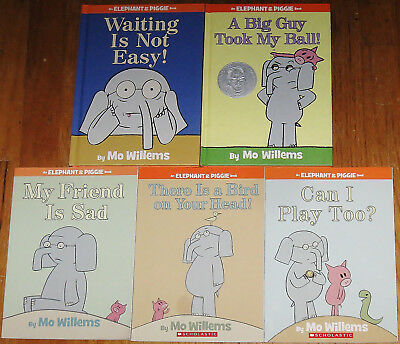 ELEPHANT & PIGGIE LOT : Waiting Is Not Easy! : Can I Play Too? : by Mo Willems