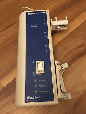 Bard Baxter Mini-Infuser Syringe/infusion Pump 150XL Working Condition