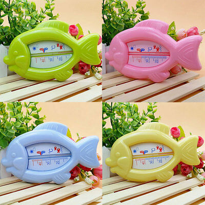 Baby Fish Shape Bath Thermometer Floating Toy Sensor Temperature Plastic
