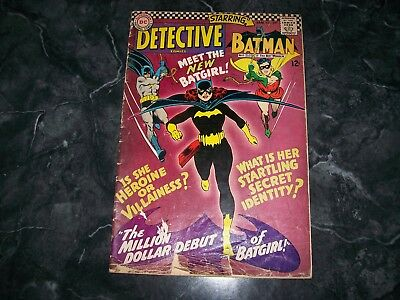 Detective Comics #359 Batman Batgirl Robin First appearance of Batgirl