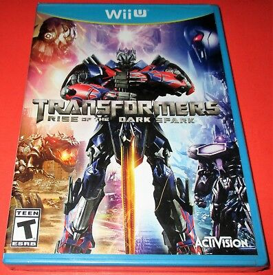 Transformers: Rise of the Dark Spark Nintendo Wii U *New-Sealed-Free Shipping!