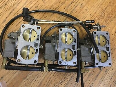1995 Mercury 150Hp Carburetor 3326-828272-C1, 818650A10, 818650A11, 818650A12