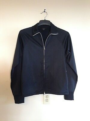 ed2eeb236a95 EXPRESS MEN S BLACK FULL ZIP SWEATER JACKET SIZE SMALL with ZIPPER ...