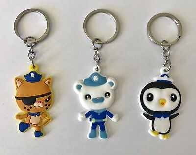 Perfect for Party Loot Bags Favours NEW Lot of 8 Minions Keyrings