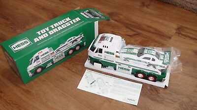 Hess 2016 Toy Truck and Dragster With Batteries factory sealed new in the box