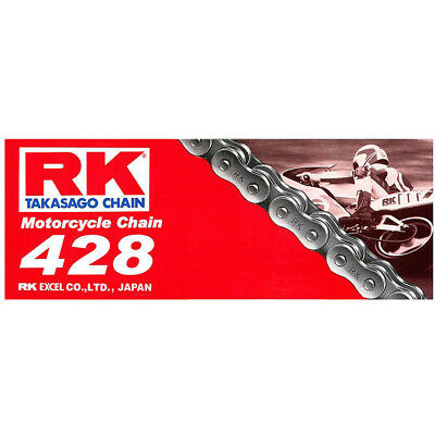 RK Chain NEW 428 126L Postie Motorcycle Road Street Bike Standard Chain