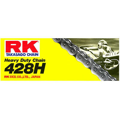 RK Chain NEW Mx 428H Heavy Duty 126L Motorcycle Dirt Bike Off Road Chain
