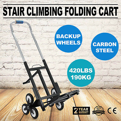 VEVOR All-Terrain Stair Climbing Folding Cart for Moving up to 420-pounds