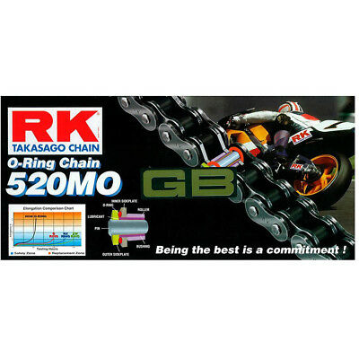 RK Chain NEW Mx 520MO Gold 120L Motorcycle Motocross Dirt Bike Chain