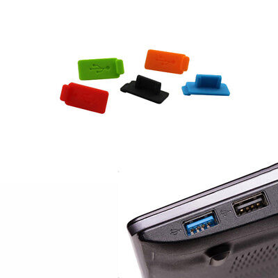 5 pieces USB port dust cover For PC , laptop , or Cars
