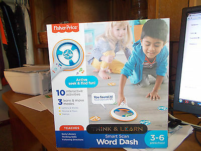 Fisher Price Smart Scan Word Dash Developmental Kids Toy Learning Activity Play