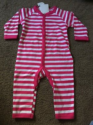 Bonds Baby Girl Stretchies Long Sleeve Long Leg Suit Onsie. BNWT Size 000