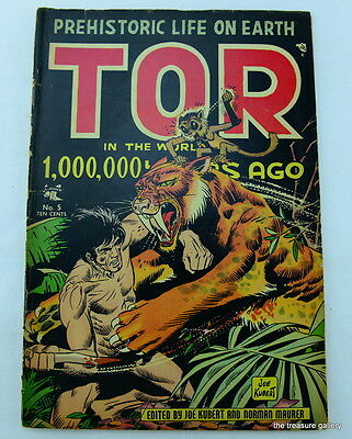 TOR IN THE WORD OF 1,000,000 YEARS AGO  St. John  1954