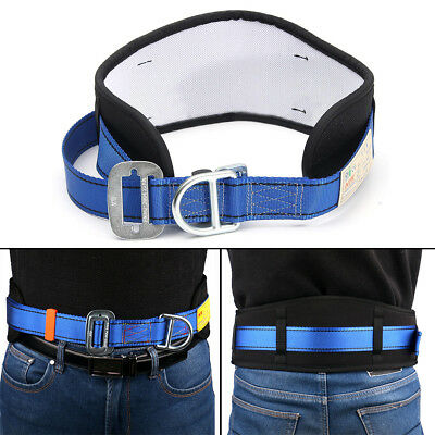 Safety Rock Climbing Fall Protection Waist Belt Harness Equip with D-Ring Gear