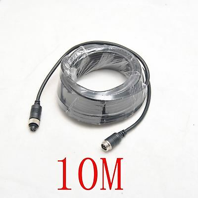 10M*2 (32 feet) REAR VIEW BACK UP CAMERA SYSTEM 4 PIN EXTENSION CABLE