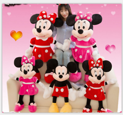 Mickey Minnie Plush toys Mickey Mouse Soft Doll child birthday Games gift 40""