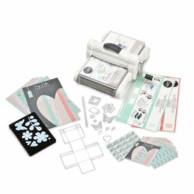 Sizzix Big Shot Plus (DIN A4) Starter Kit Stanz- und Prägemaschine My Life Model