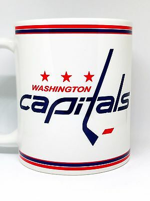 Custom Made Washington Capitals white Coffee Mug with your name