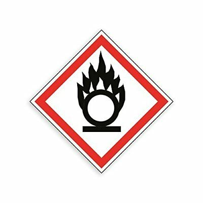 Safety & Hazard Signs - Harmful Substances Signs - GHS COSHH Symbol Signs [Ox...