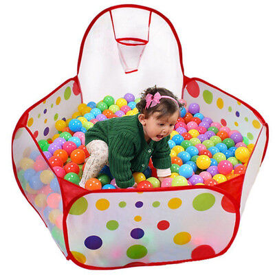 Kid Child Ball Pit Pool Play Tent For Baby Indoor Outdoor Game Toy Enjoy Funny T
