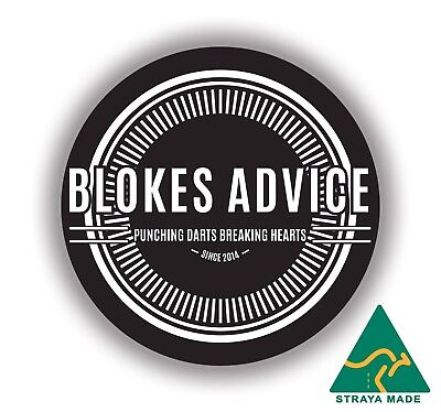 Bloke's Advice Sticker