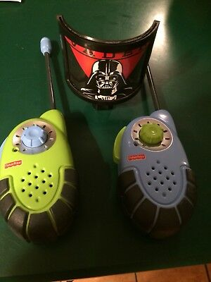 Fisher-Price Kid Tough Walkie Talkies Drop Resistant Good Used Condition