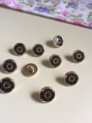 15 Rose Phnom Penh point oil sun pattern plastic pin shirt button sewing (263)