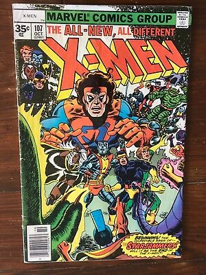 X-men 107 35 Cent Price Variant Rare GD