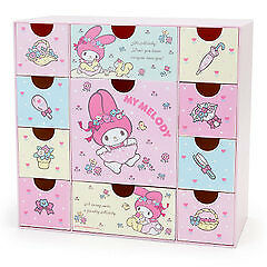 My Melody a lot drawer plastic chest SANRIO kawaii from Japan