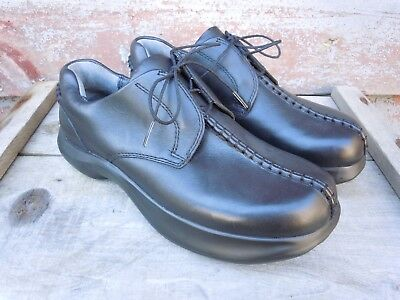 NWOB EARTH Shoes Oxfords Black leather Heritage 2 KALSO Women's (9) Men's (7)