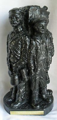 """Large Mining Model """"End of an Era"""" Coal Model - Hand Crafted - 322"""