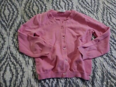 Pink girls everyday sweater size 4/5