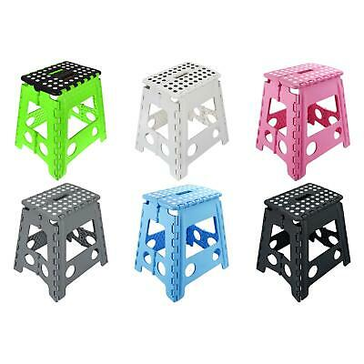 Folding Foot Step Stool Multi Purpose Plastic Home Kitchen Foldable Easy Storage