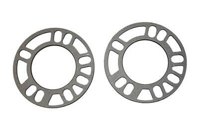 5MM ALLOY WHEEL SPACERS CAR SHIMS UNIVERAL SET OF 2 5x100 5x112 5x114.3 5x120