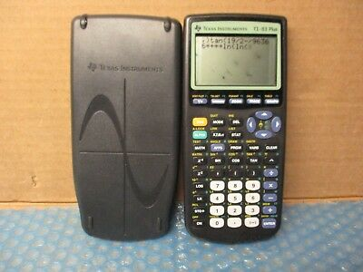 Texas Instruments Ti-89 Titanium Graphing Calculator with slide cover
