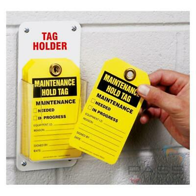 Lockout Tagout Tags Holder - Holds 20 Tags