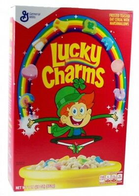 Lucky Charms Cerealien mit Marshmallows USA Import 453 g