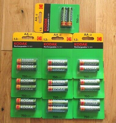 New AA Rechargeable Batteries 3000 mAh LONG LIFE HIGH DRAIN CAPACITY Heavy Duty
