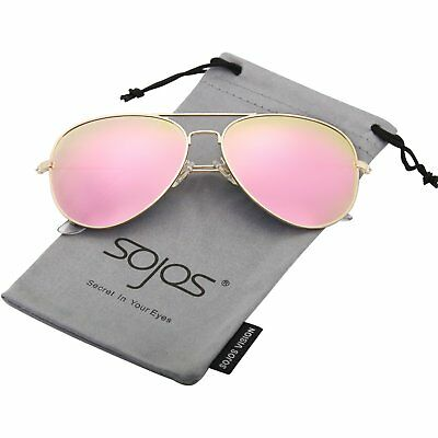 Polarized Aviator For Women Sunglasses Shades Metal Frame Fashion Christmas Gift